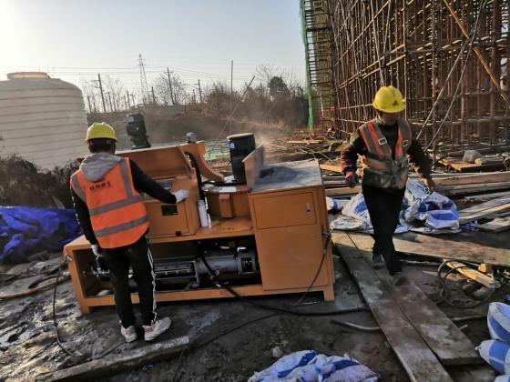 2021年1月15日成都成南立交跨铁路桥主桥工程