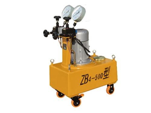 高压油泵ZB4-500型